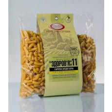 Макароны «ЗДОРОВЬЕ» №11 с зародышем пшеницы из твердых сортов (0,4 кг)