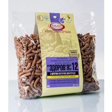 """Макароны """"Здоровье"""" №12 с косточкой винограда из твердых сортов (0,4 кг)"""