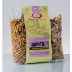 Макароны «ЗДОРОВЬЕ» №14 с семенами расторопши из твердых сортов (0,4 кг)