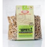 Макароны «ЗДОРОВЬЕ» №2 с ржаными отрубями из твердых сортов (0,4 кг)