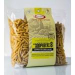 Макароны «ЗДОРОВЬЕ» №8 с семенами тыквы из твердых сортов (0,4 кг)