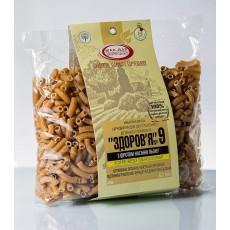 Макароны «ЗДОРОВЬЕ» №9 с семенами льна из твердых сортов (0,4 кг)