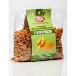 Макароны с Куркумой из твердых сортов пшеницы