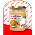 Арахисовая паста Хрустящая с клубникой ТМ «Good Energy» (250 г)