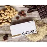 "Шоколад на основе кэроба ""AUGUST"" с кунжутом и арахисом, 80 г"