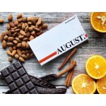 """Шоколад на основе кэроба """"AUGUST"""" с апельсином и миндалем"""